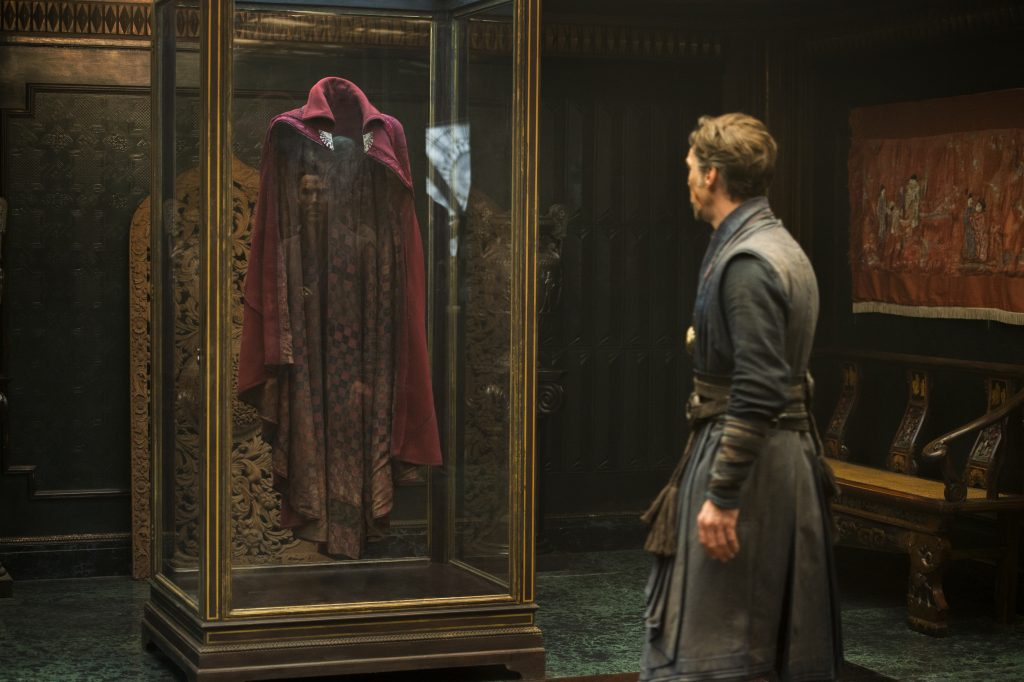 Doctor Strange has a famous red cape, but what is it's official name?