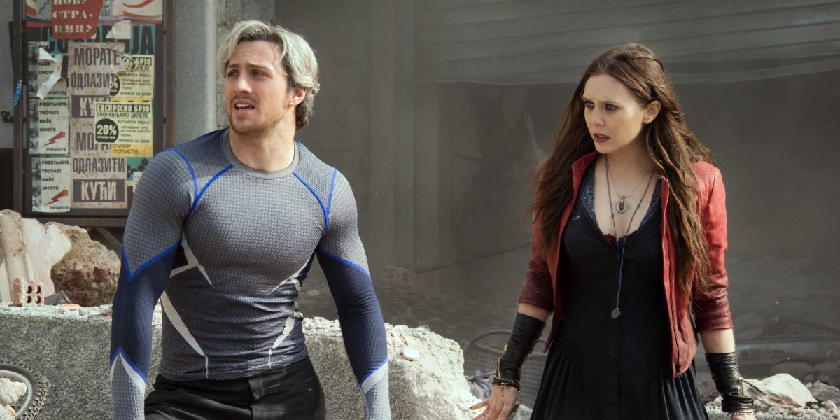 In Captain America: The Winter Soldier, what are Quicksilver and Scarlet Witch referred to as being?
