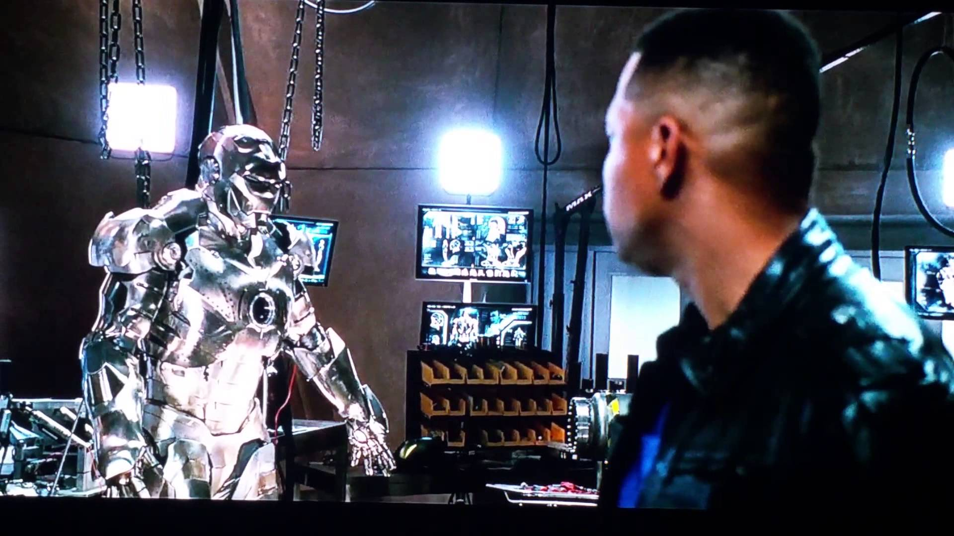 Who played Colonel James Rhodes in the first Iron Man?