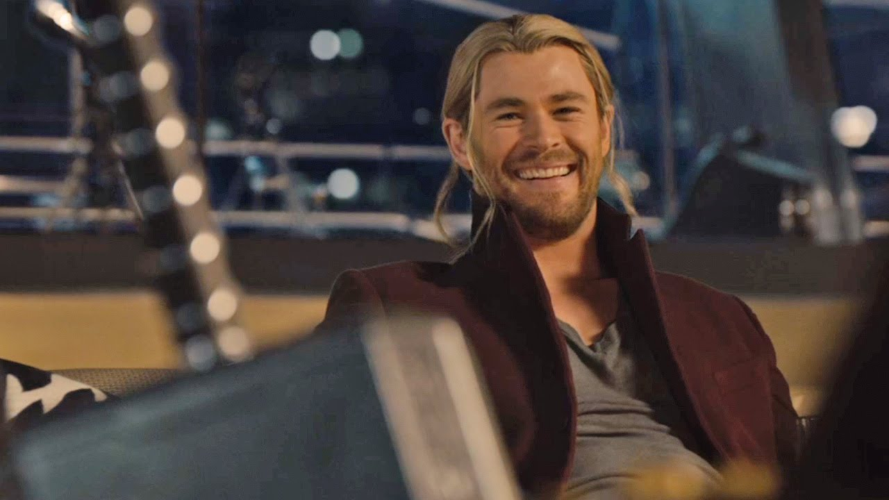 In Avengers: Age Of Ultron, who nearly picks up Mjolnir?