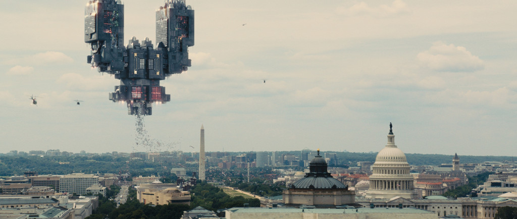 Galaga in Columbia Pictures' PIXELS.