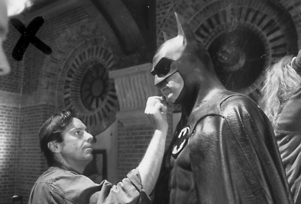 Risultati immagini per batman michael keaton behind the scenes