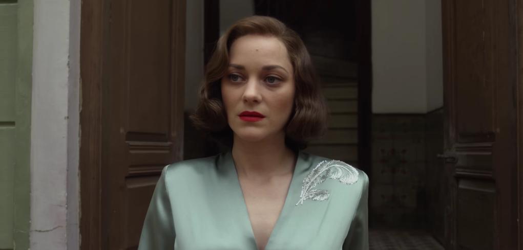 Allied (2016). Starring Brad Pitt & Marion Cotillard