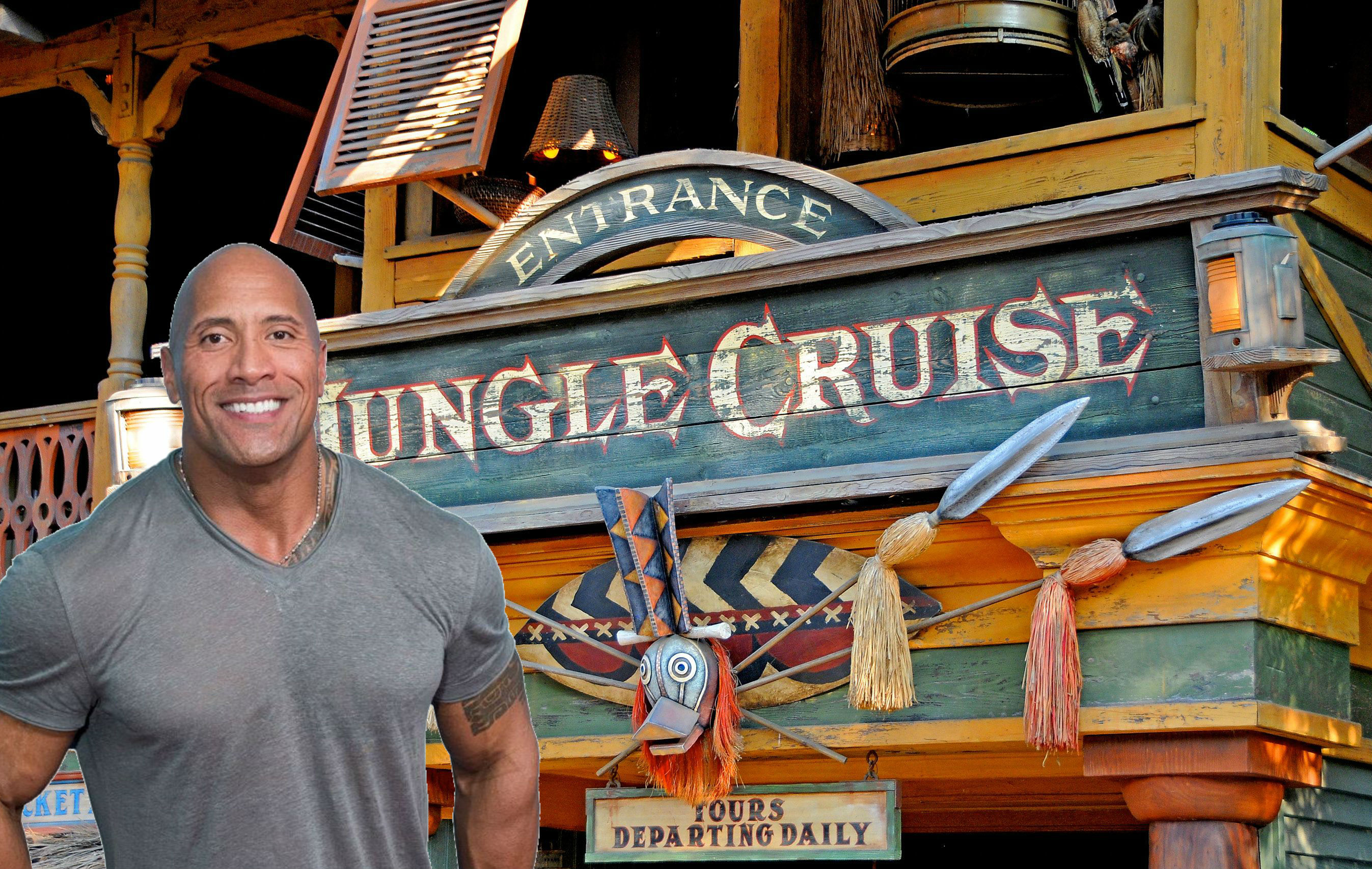 The Rock Heads On A Jungle Cruise With Disney