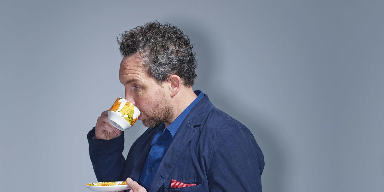 Eddie Marsan Tea