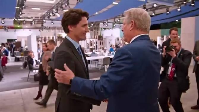 Al Gore Justin Trudeau