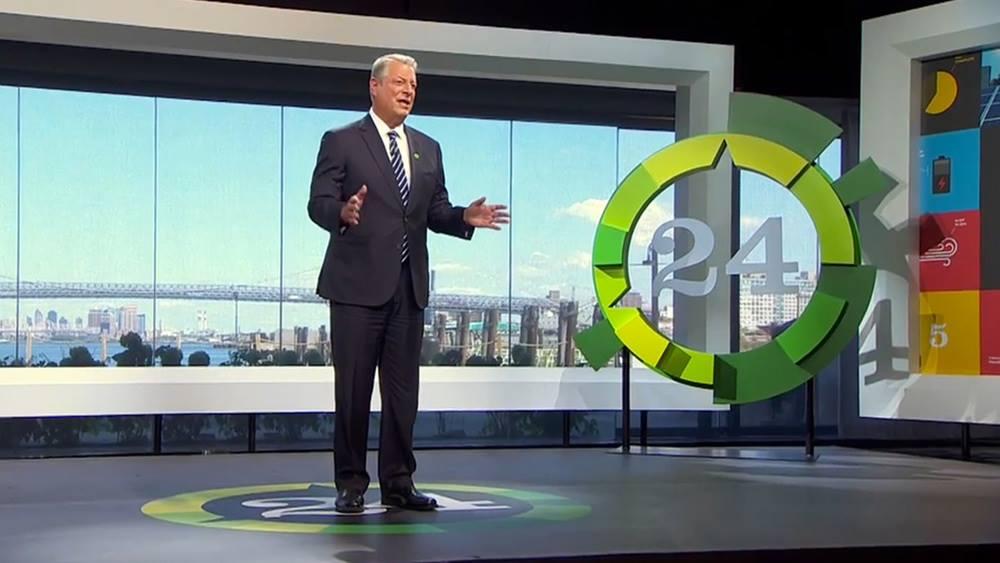 Al Gore 24 Hour Webcast
