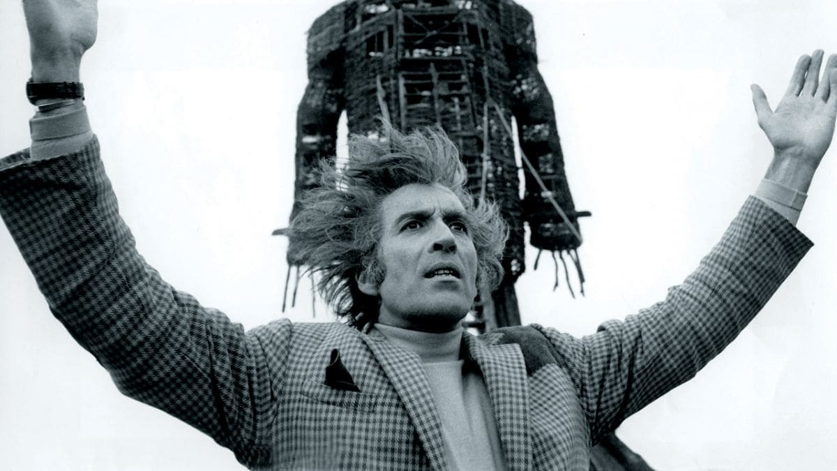 Lord Summerisle The Wicker Man Christopher Lee