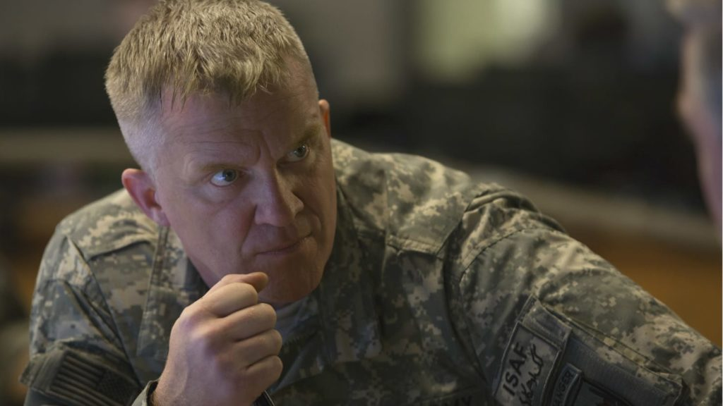 Anthony Michael Hall in War Machine