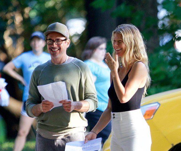 Gwyneth paltrow Robert Downey Jr Avengers 4