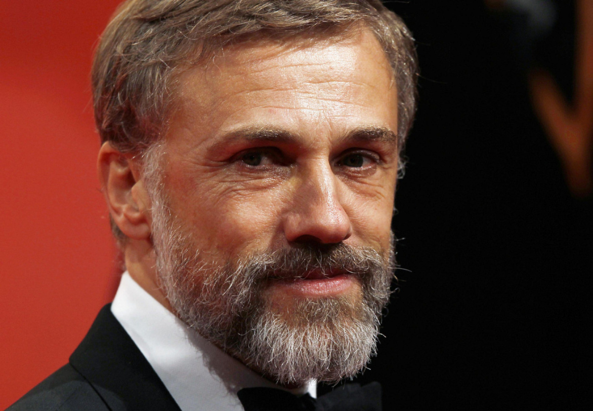 Austrian actor Christoph Waltz arrives at the BAFTA awards ceremony at the Royal Opera House in London