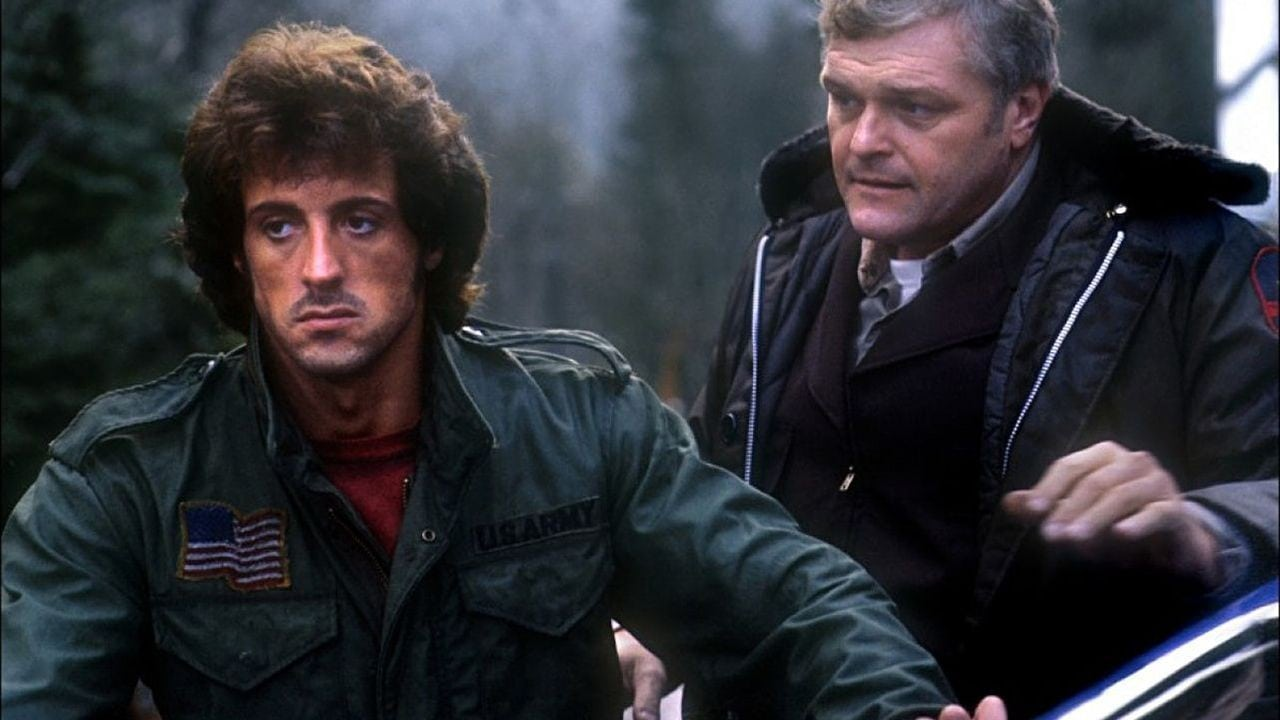 John Rambo and Teasle First Blood