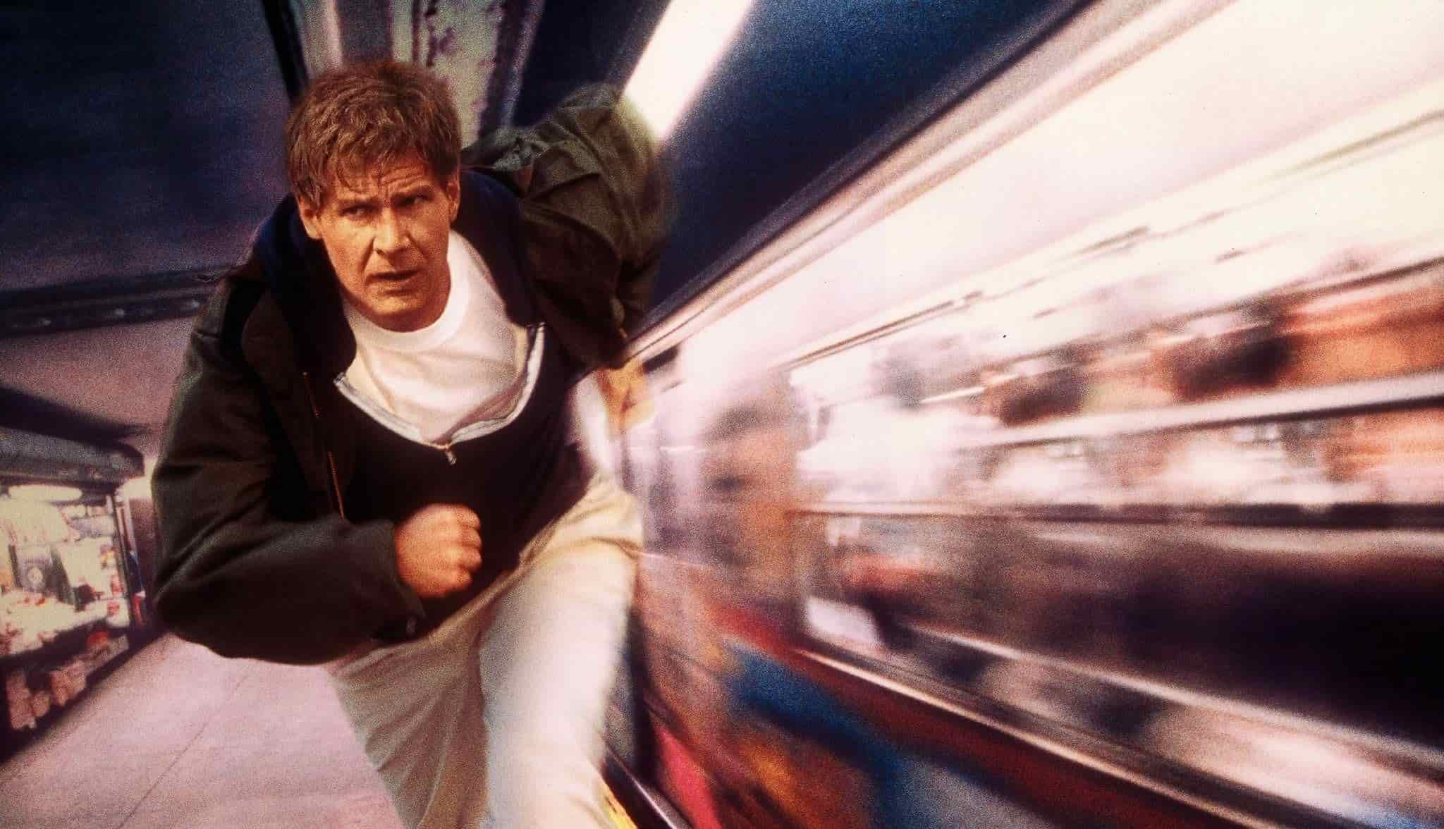 Harrison Ford The Fugitive Cover